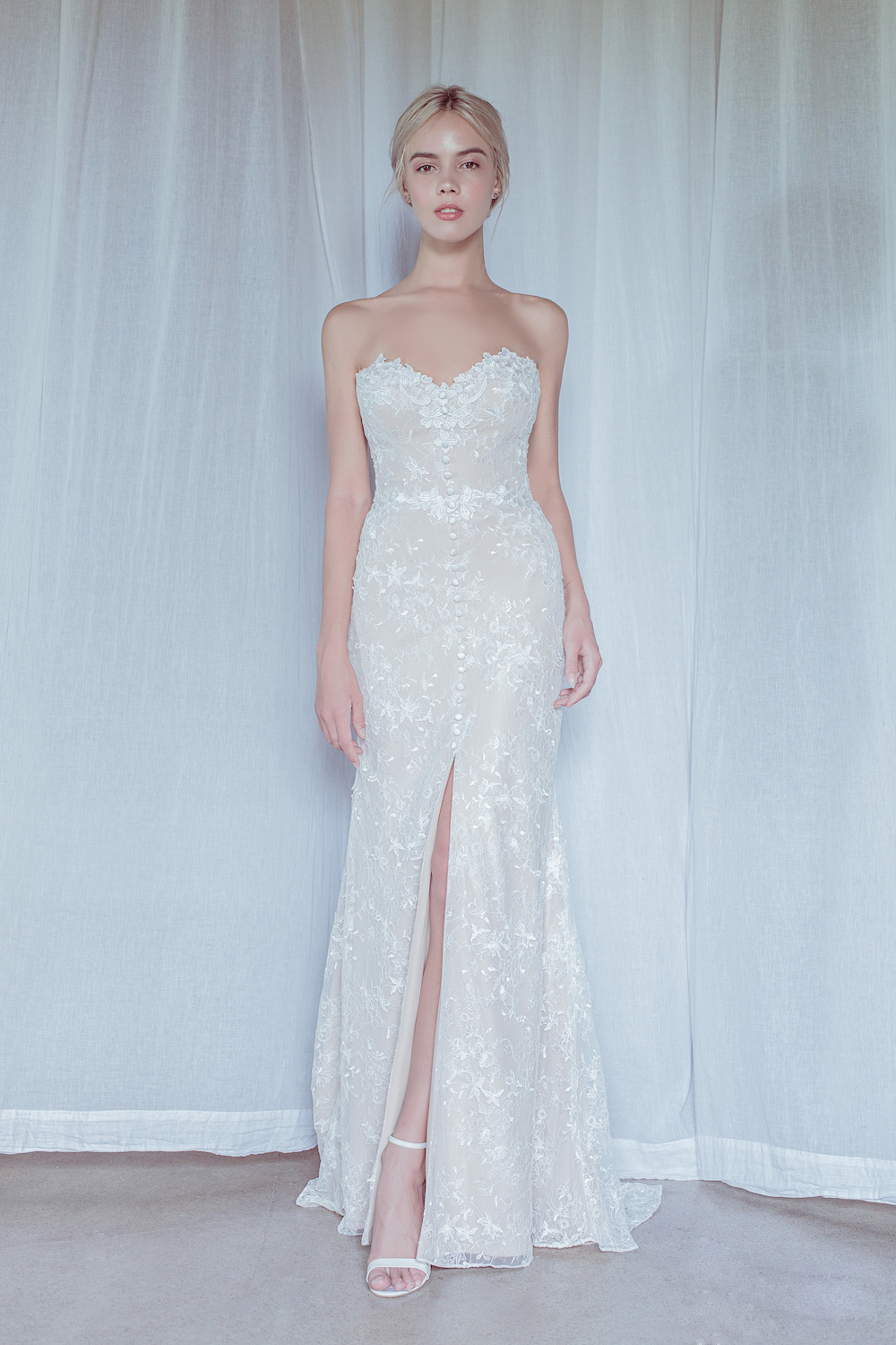 Cabo Wedding Dress Oui The Label 2018 Stolen Moments Bridal Collection featured on LOVE FIND CO.