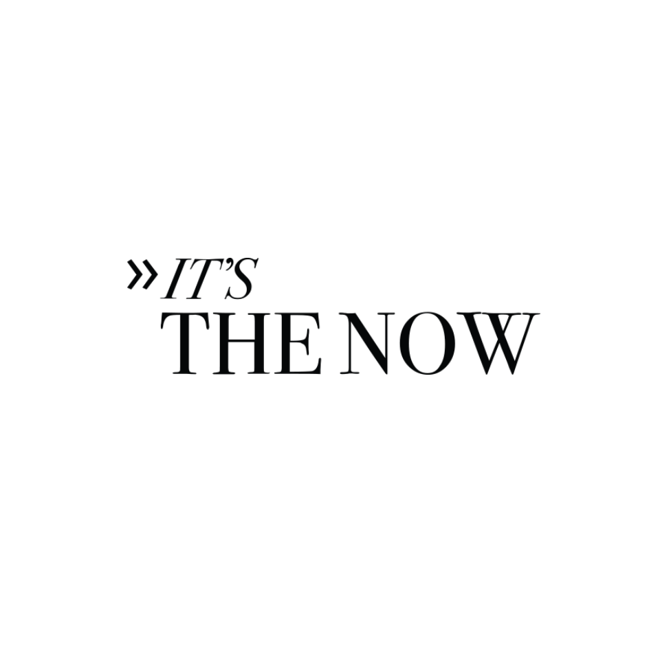 IT'S THE NOW FEATURING LOVE FIND CO.