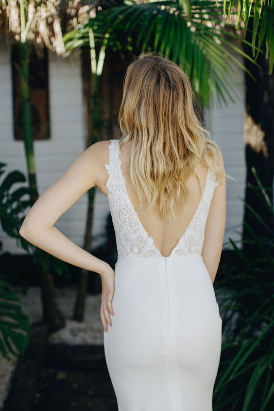 The Sage wedding dress by Emmy Mae Bridal featured on LOVE FIND CO.