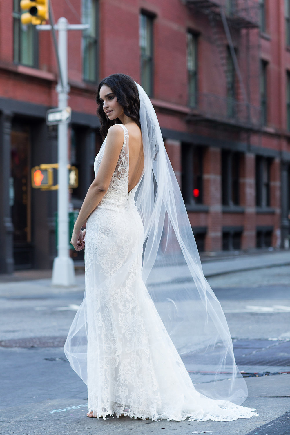 The Harlow wedding dress by Grace Loves Lace featured on LOVE FIND CO.