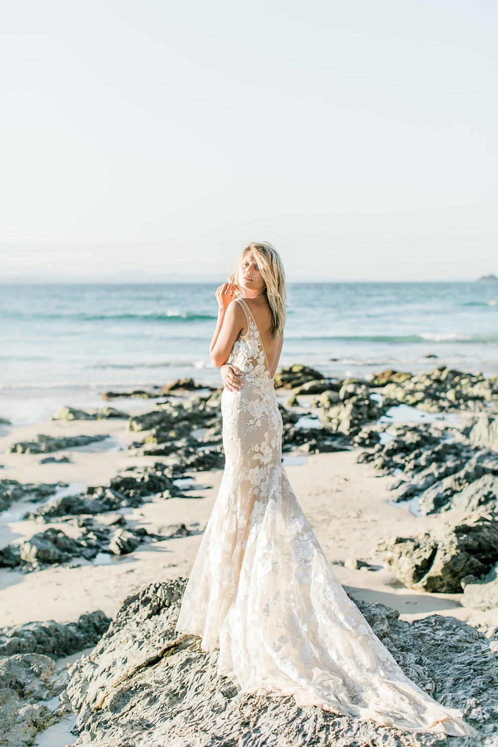 The Frankie wedding dress by Made With Love Bridal featured on LOVE FIND CO.