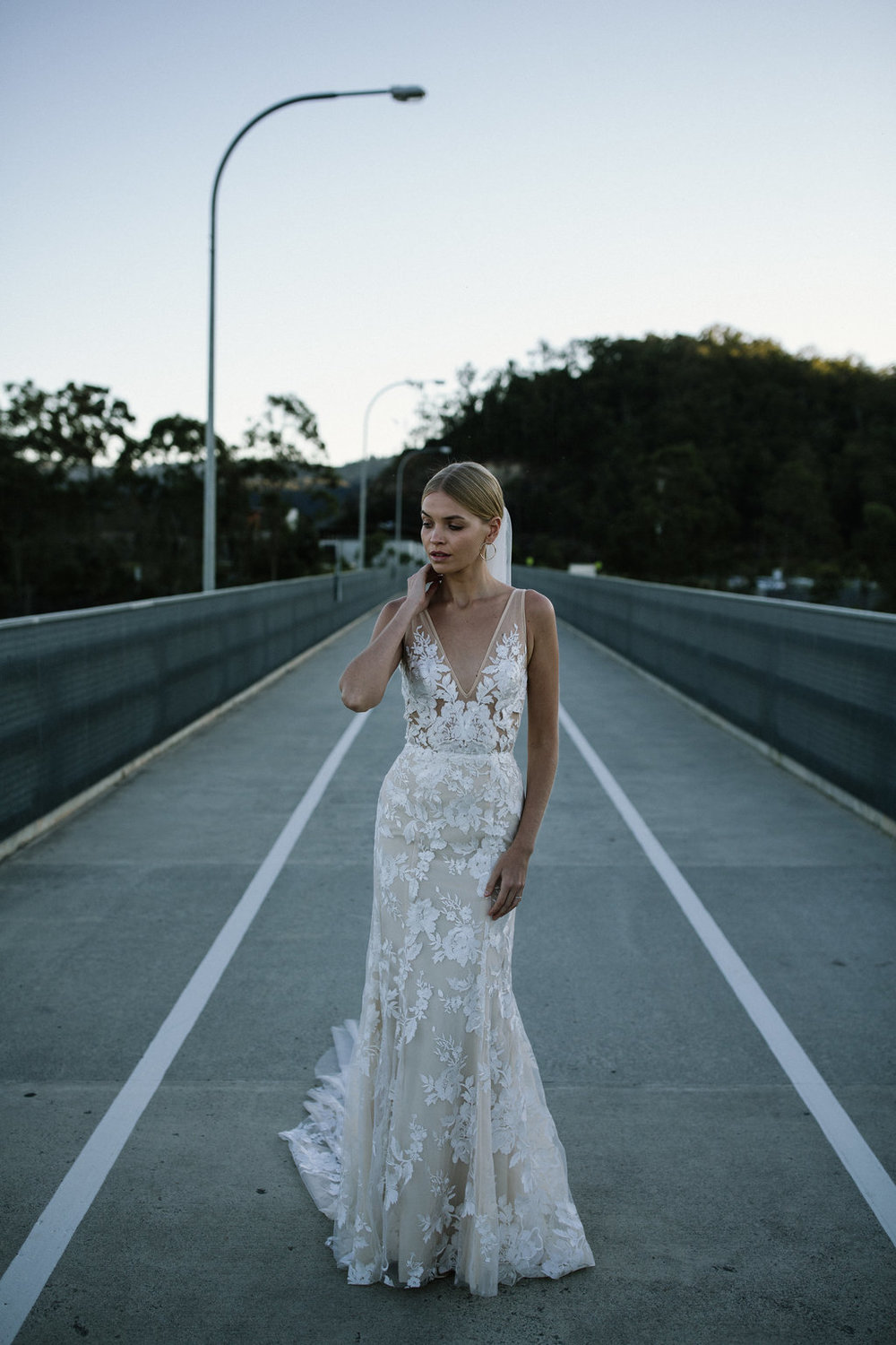 The Stevie wedding dress by Made With Love Bridal featured on LOVE FIND CO.