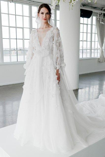 Marchesa wedding dress featured on LOVE FIND CO.