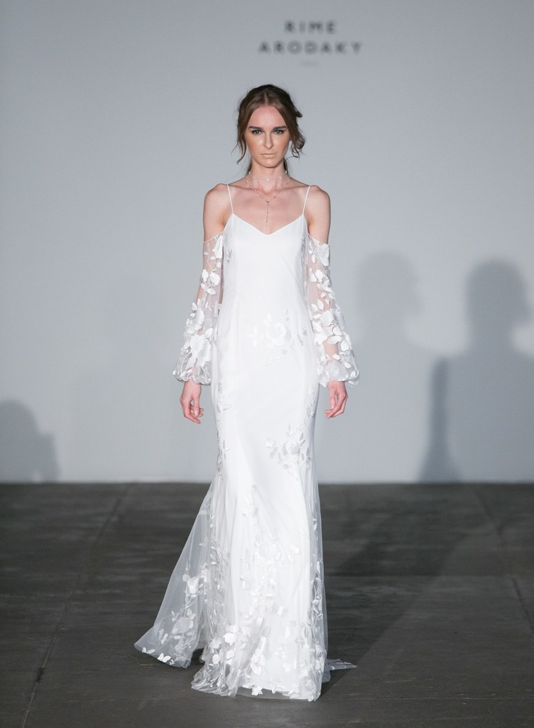 Rime Arodaky wedding dress featured on LOVE FIND CO.