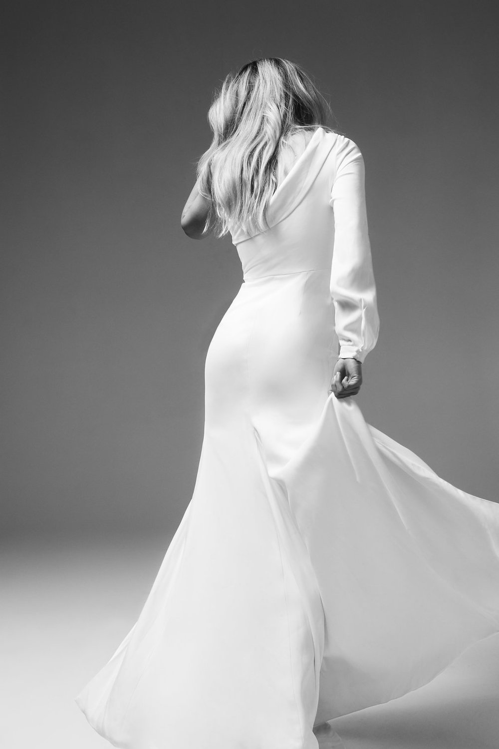 Oscar Wedding Dress by Marquise Bridal featuring LOVE FIND CO.