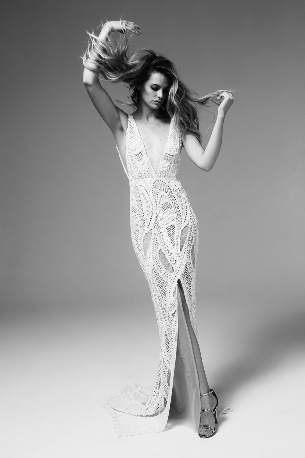 Mojave Wedding Dress by Marquise Bridal featuring LOVE FIND CO.