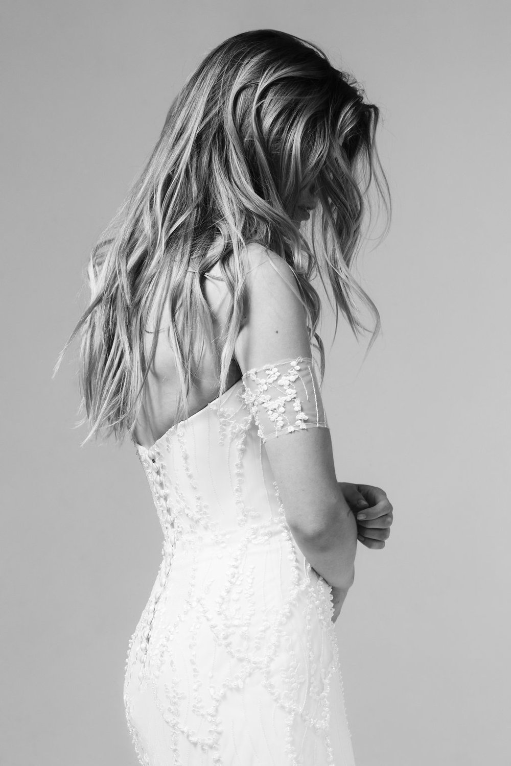 Romy Wedding Dress by Marquise Bridal featuring LOVE FIND CO.