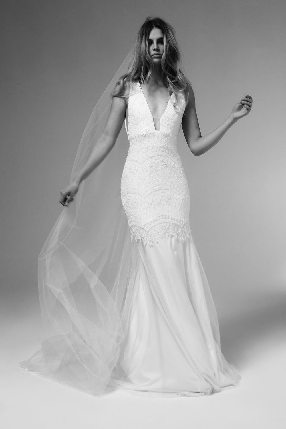 Felix Wedding Dress by Marquise Bridal featuring LOVE FIND CO.