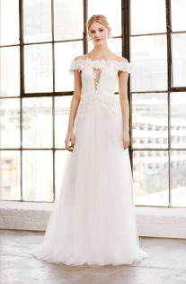 Romantic Wedding Dresses from Spring 2019 Bridal Collections