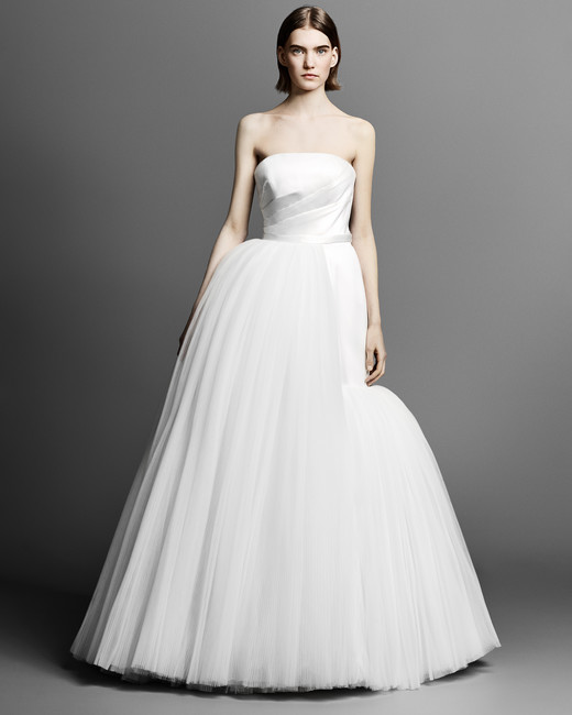 Asymmetrical bridal ball gowns from Spring 2019 Bridal Collections