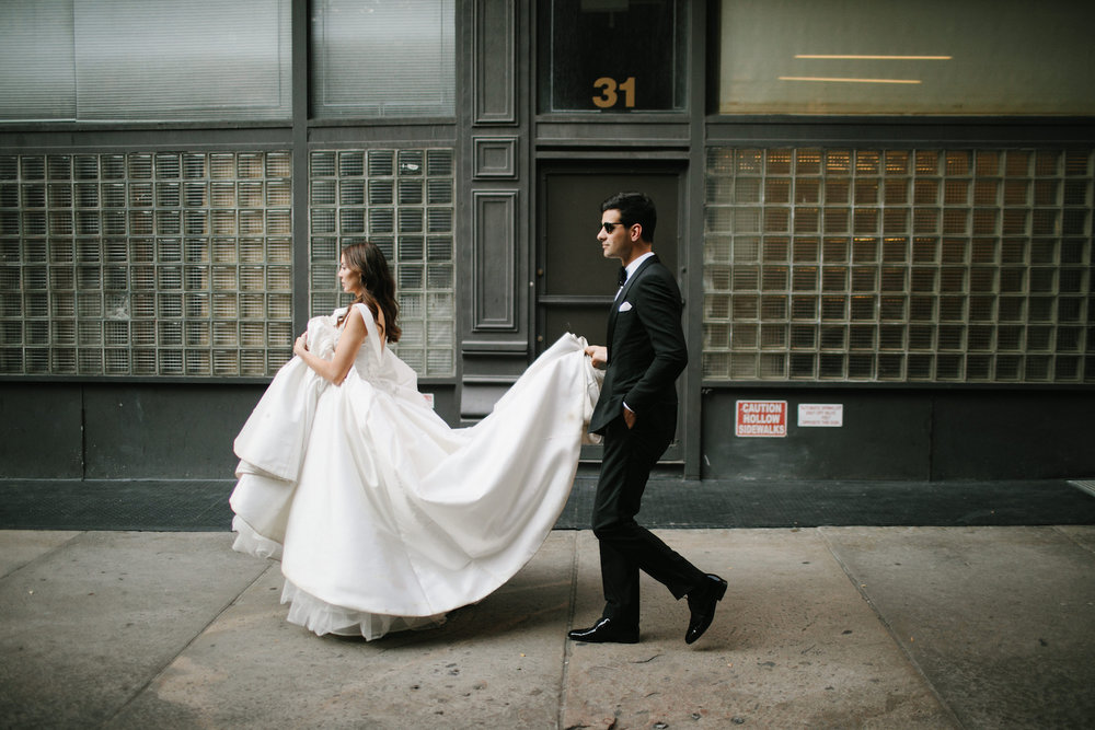 Chloe & MJ's magical New York wedding featured on LOVE FIND CO.