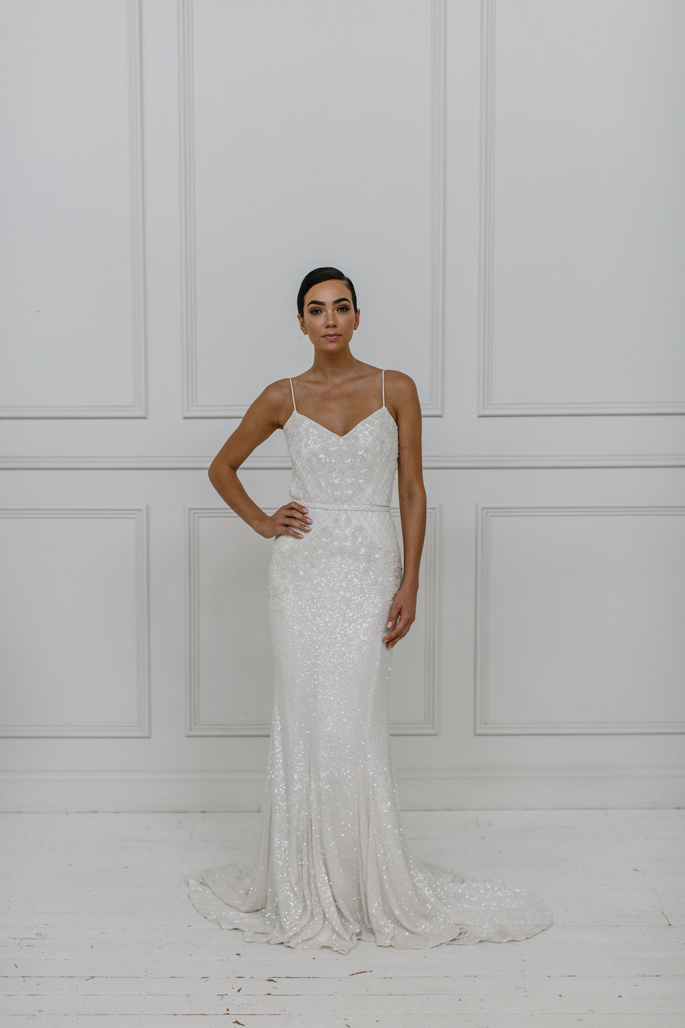 Darcy - KWH by Karen Willis Holmes 2018 sequin wedding dress Collection