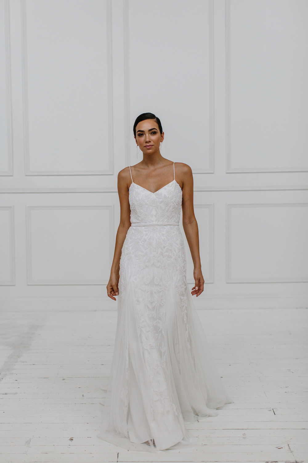 Freya - KWH by Karen Willis Holmes 2018 sequin wedding dress Collection