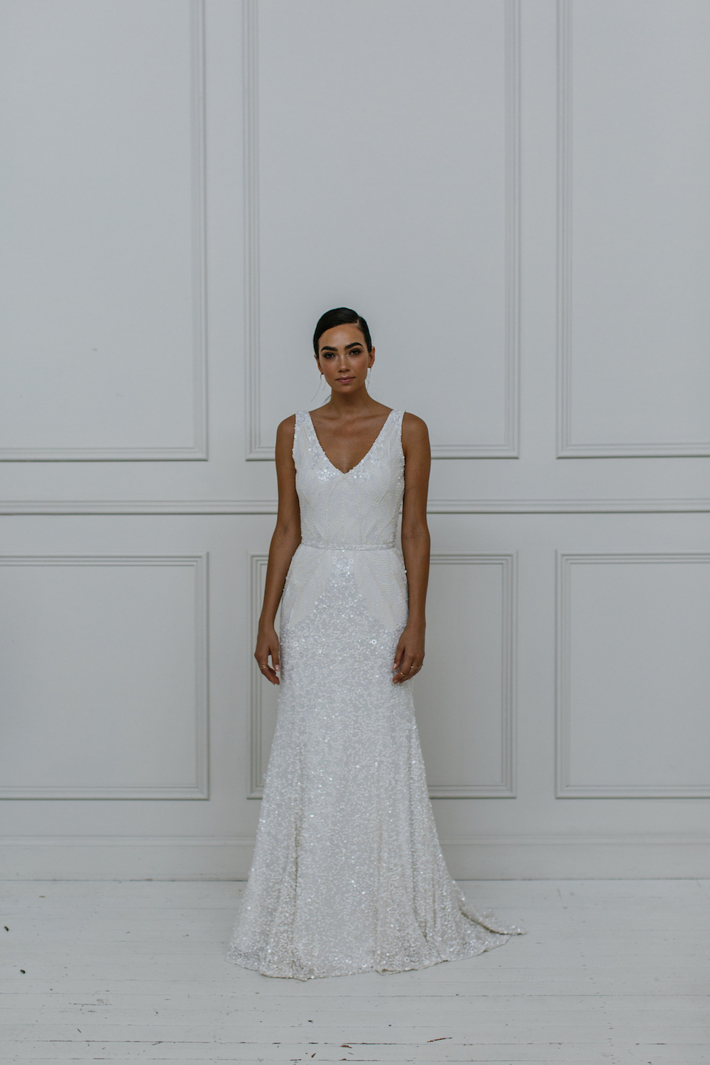 Olympia - KWH by Karen Willis Holmes 2018 sequin wedding dress Collection