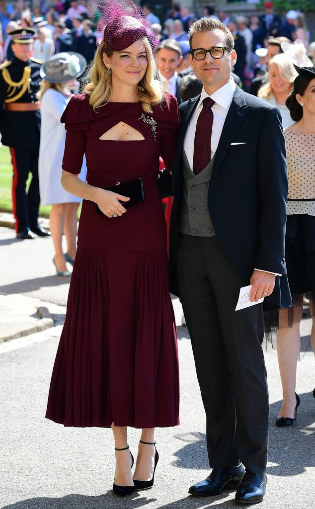 Jacinda Barrett at the Royal Wedding of Prince Harry and Meghan Markle