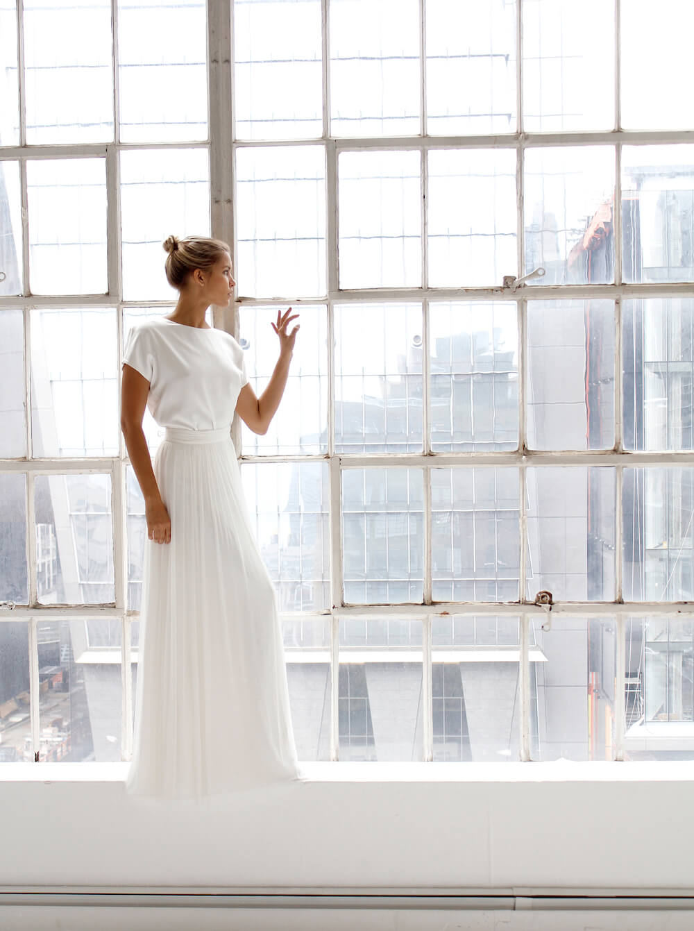 Wedding dress by Fiona Claire featured on LOVE FIND CO.