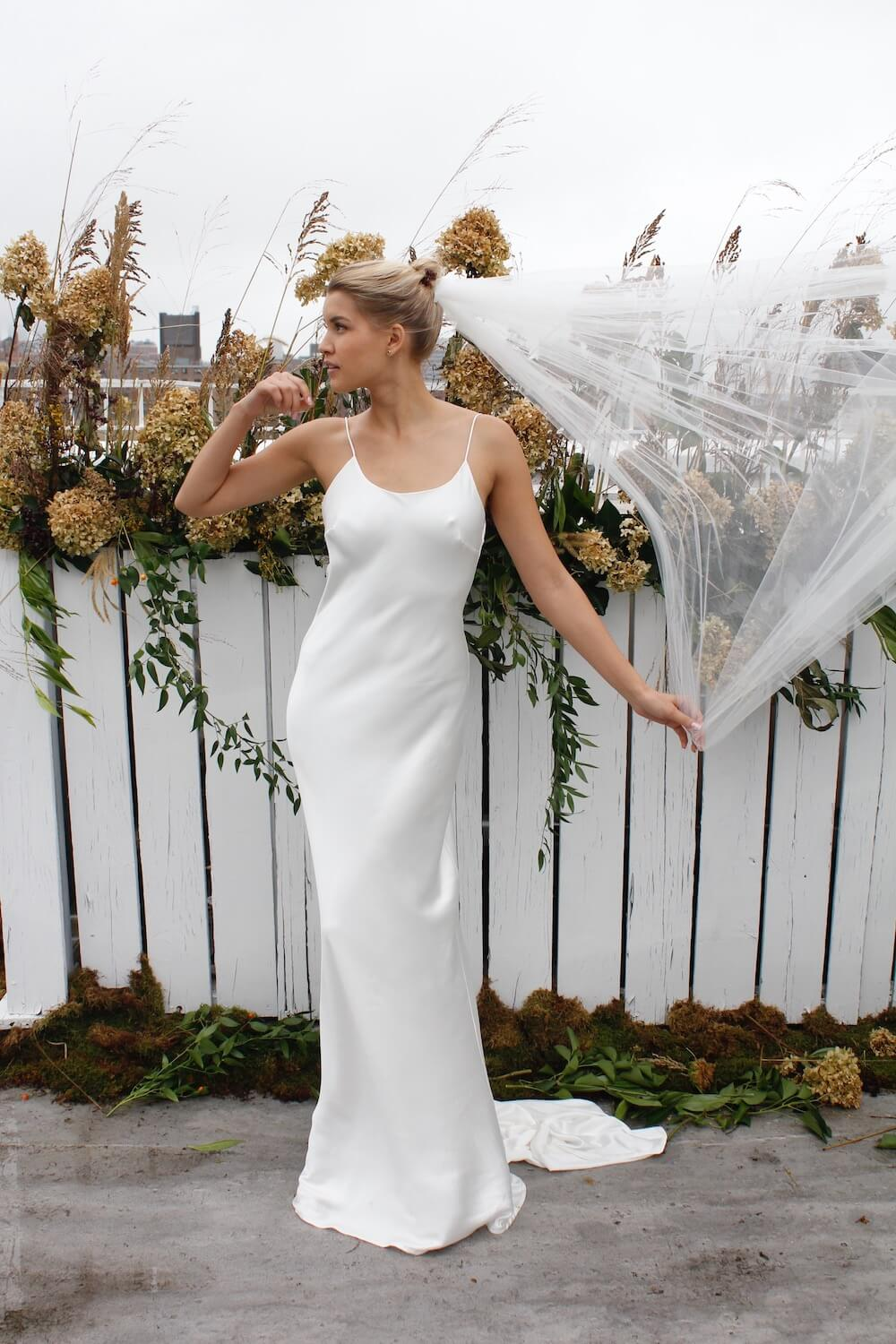 Emerge wedding dress by Fiona Claire featured on LOVE FIND CO.