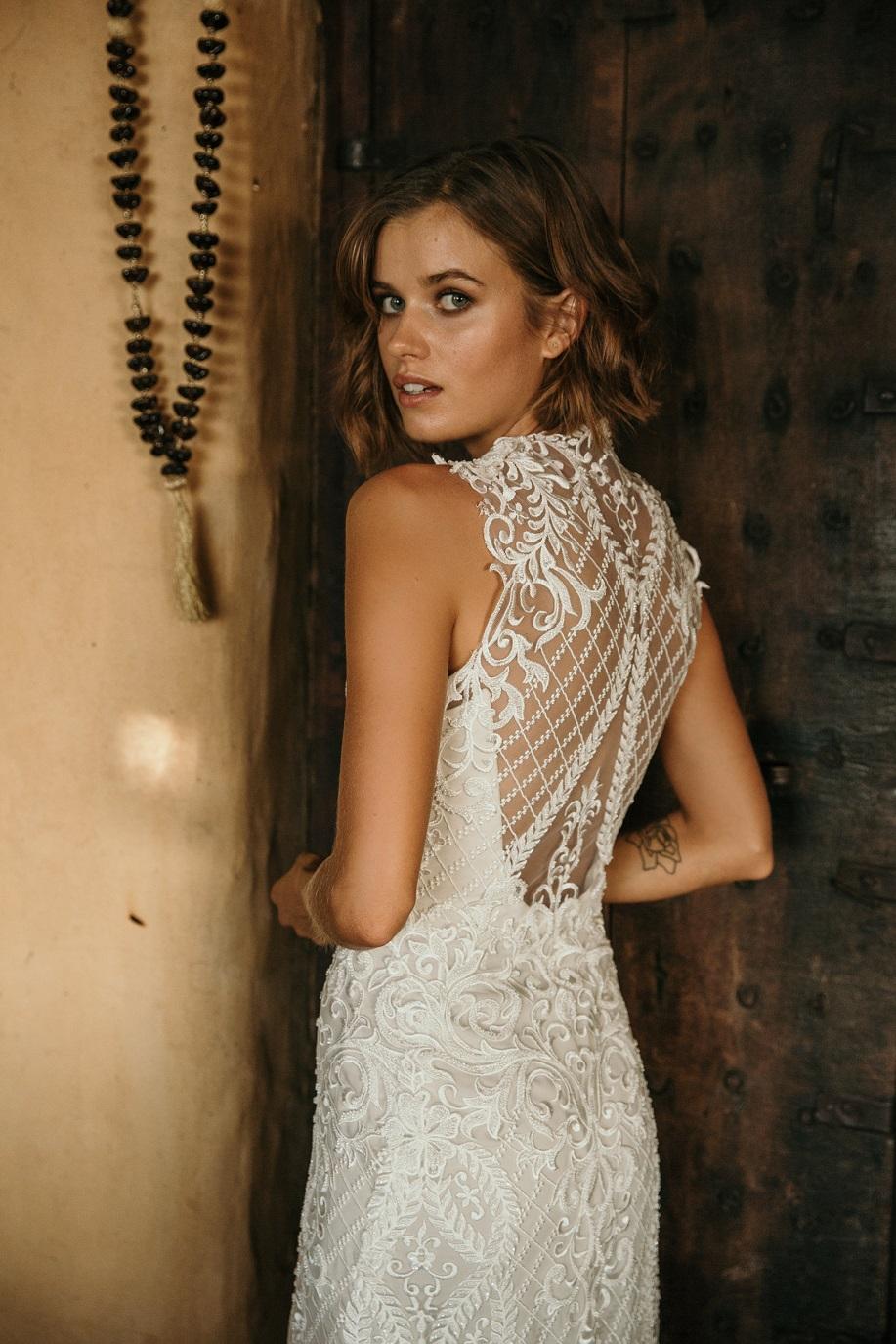 Breathless wedding dress by Jennifer Go featured on LOVE FIND CO.