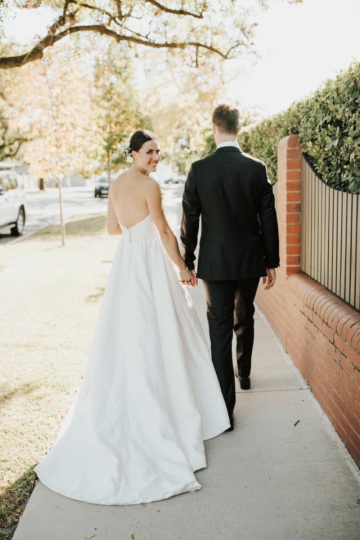 Bride wearing Amaline Vitale featured on LOVE FIND CO.