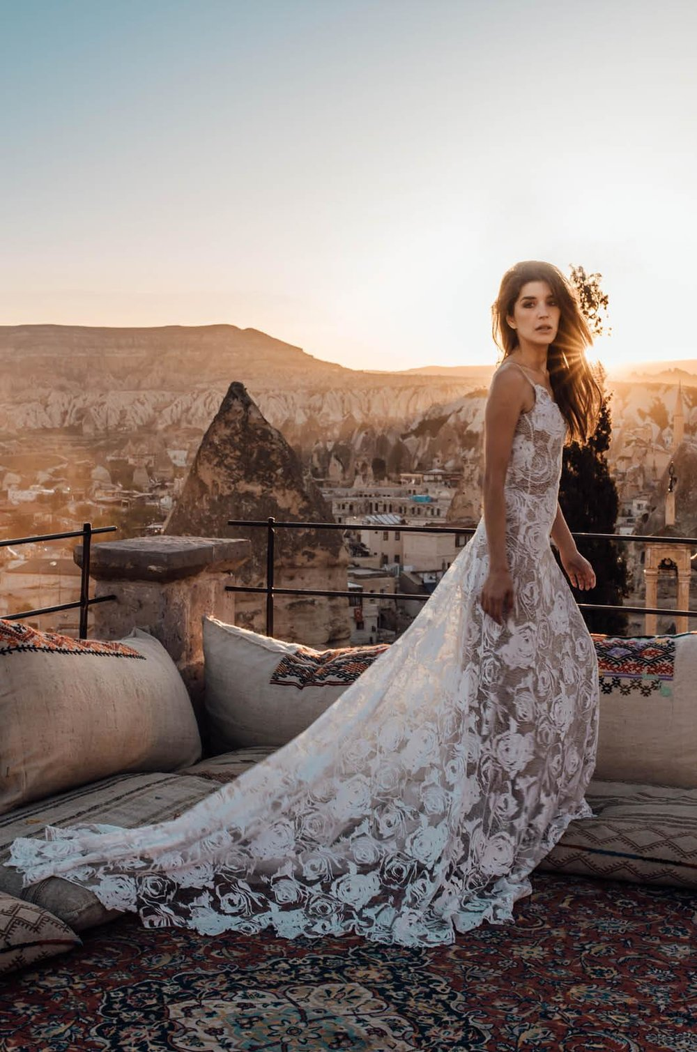 Rosa lace wedding dress by Grace Loves Lace featured on LOVE FIND CO.