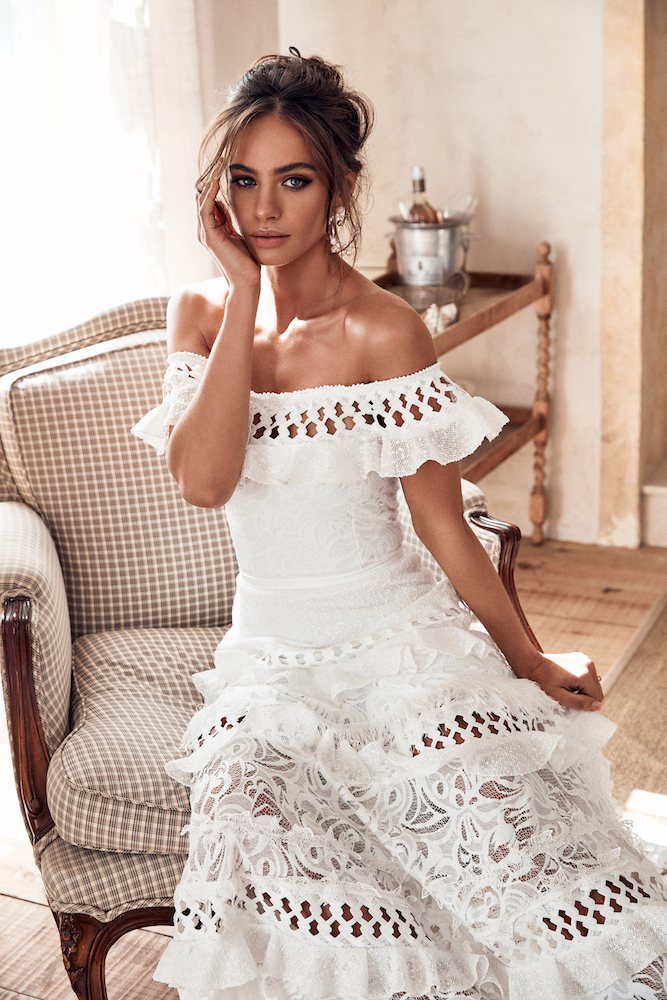 Coco Wedding Dress | ICON by Grace Loves Lace featured on LOVE FIND CO.