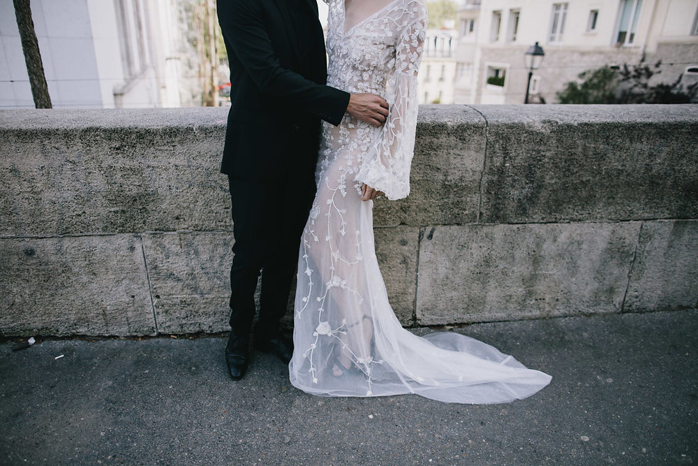 Parisian editorial featuring L'eto Bridal on LOVE FIND CO.