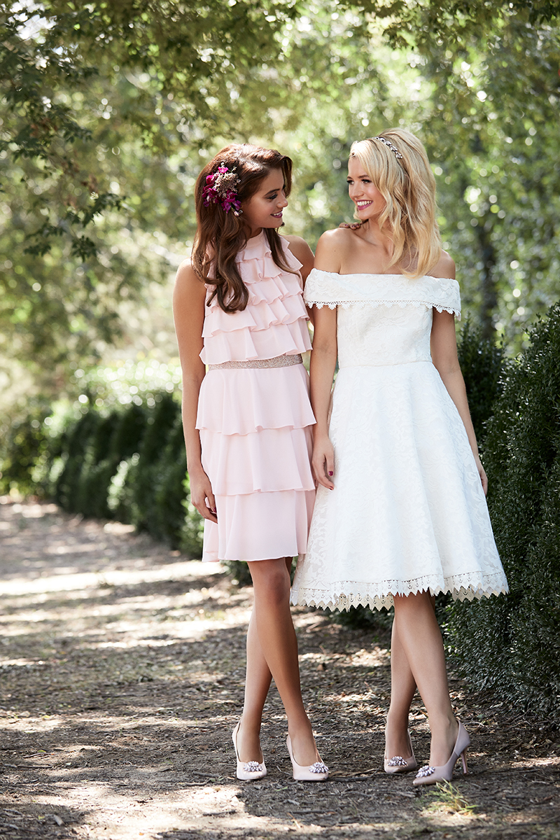 Review bridesmaid dresses on the LOVE FIND CO. Dress Concierge