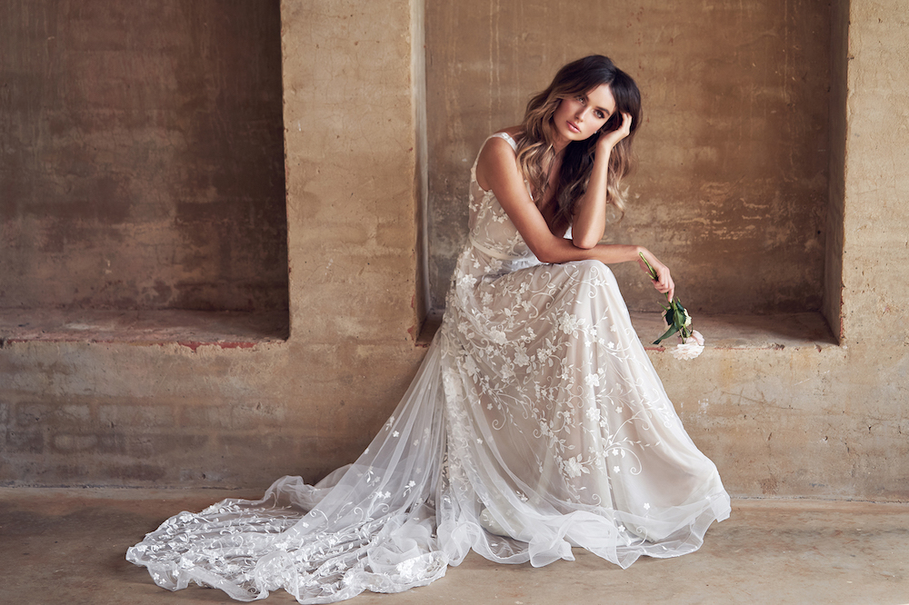 Anna Campbell Wanderlust bridal collection featured on LOVE FIND CO.