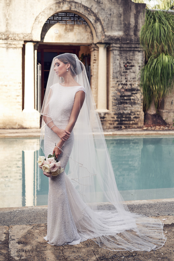 Blake wedding dress by Anna Campbell features on LOVE FIND CO.