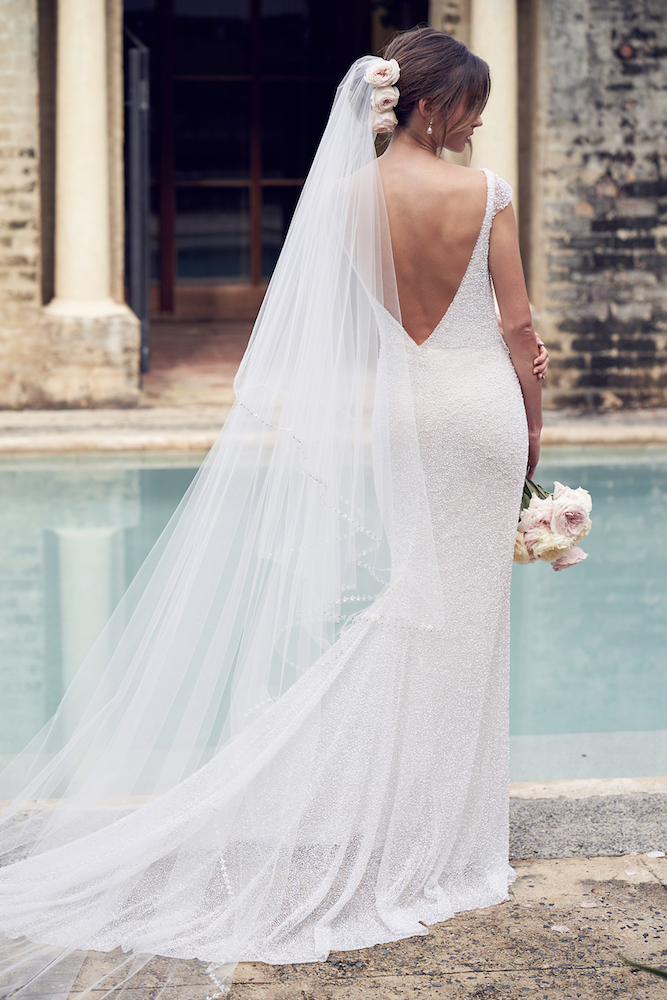 Blair wedding dress by Anna Campbell featured on LOVE FIND CO.
