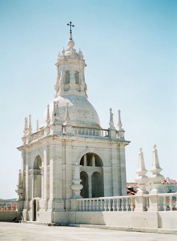 Igreja Da Sao Vicente de Fora Lisbon, Portugal wedding destination featured on LOVE FIND CO.