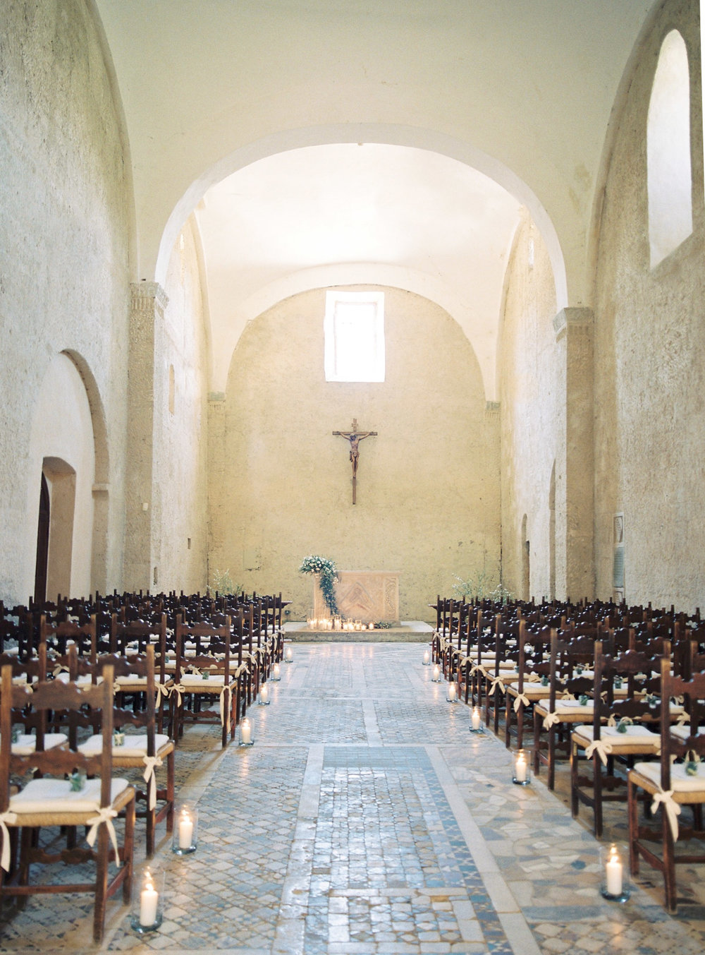The Badia di Orvieto, four-star hotel, Italy destination wedding location featured on LOVE FIND CO.