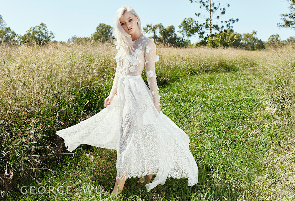 Bridal Designer George Wu featured on the LOVE FIND CO. Dress Concierge
