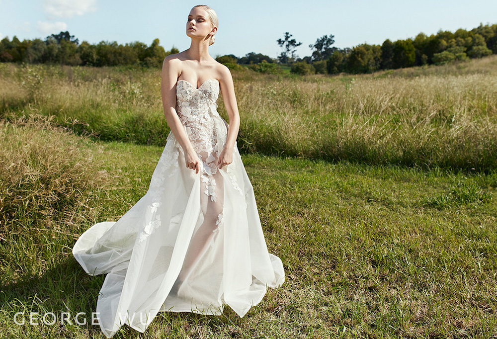 George Wu Mortella Bridal Dress by George Wu featured on LOVE FIND CO.