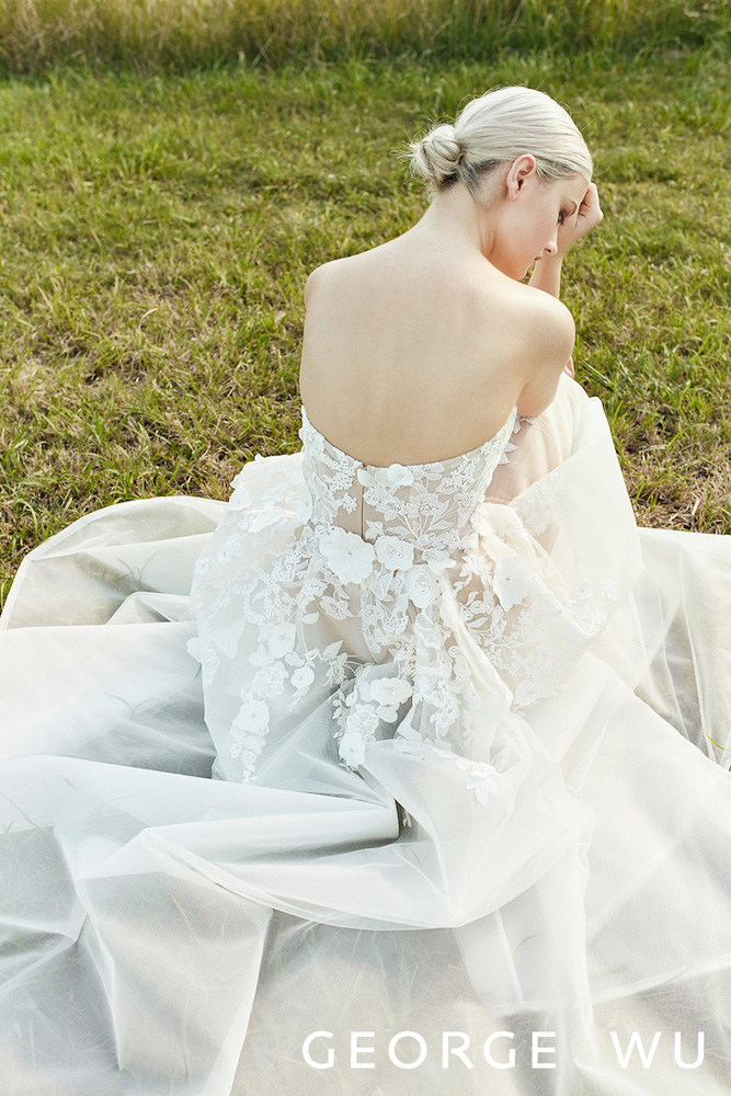Mortella Wedding Dress by George Wu featured on LOVE FIND CO.