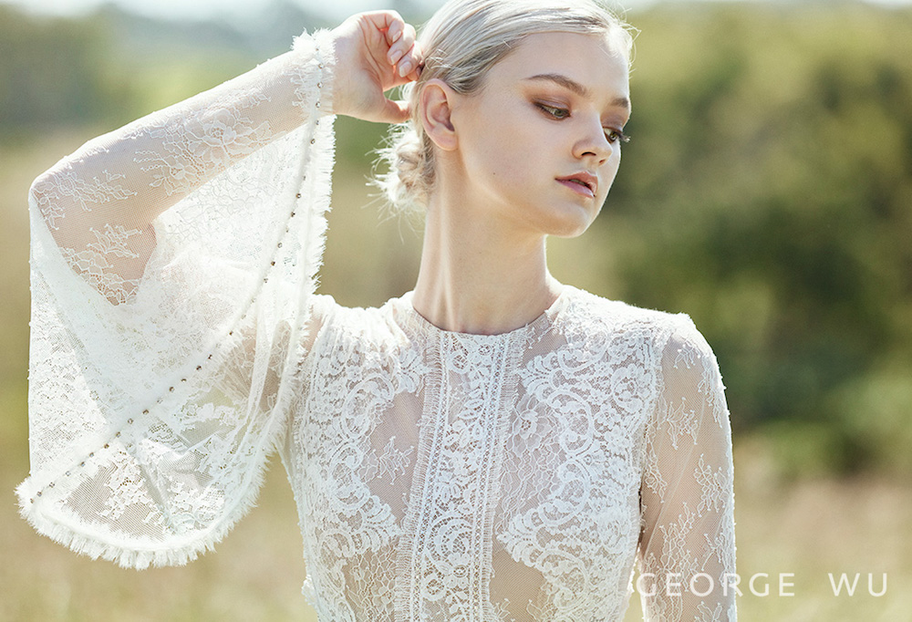 Farnesiani Wedding Dress by George Wu featured on LOVE FIND CO.