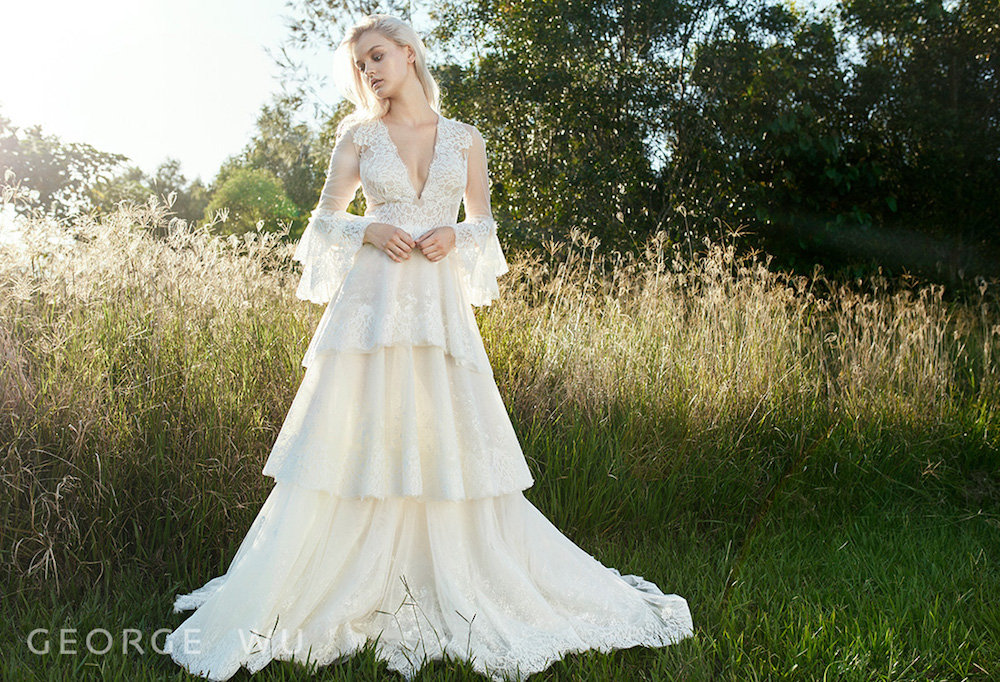 Borghese Wedding Dress by George Wu featured on LOVE FIND CO.