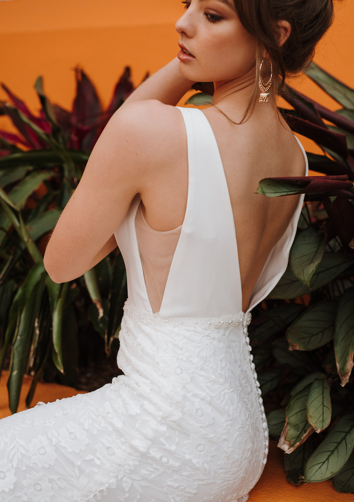 Viola wedding dress by Daisy by Katie Yeung featured on LOVE FIND CO.