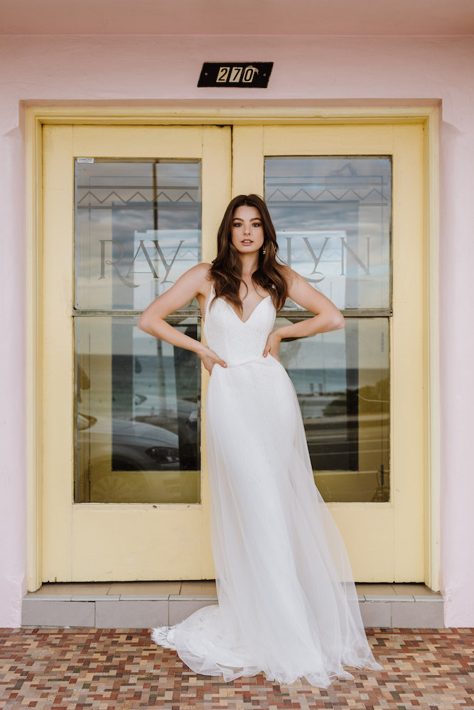 Gardenia wedding dress by Daisy by Katie Yeung featured on LOVE FIND CO.