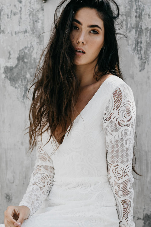 Daisy Bride Lace Wedding Dress featured on LOVE FIND CO.