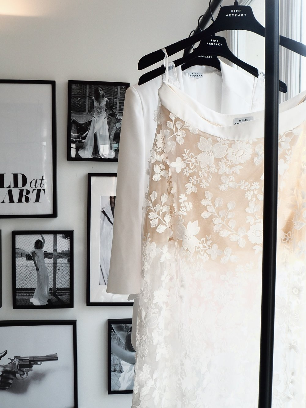Exclusive Sneak Peek of the new bridal collection by Rime Arodaky featured on LOVE FIND CO.