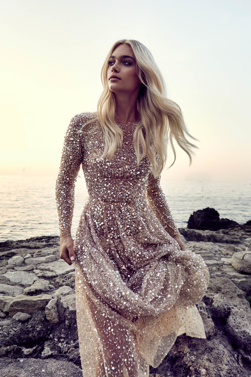 Chosen by One Day Statement Gown on LOVE FIND CO.