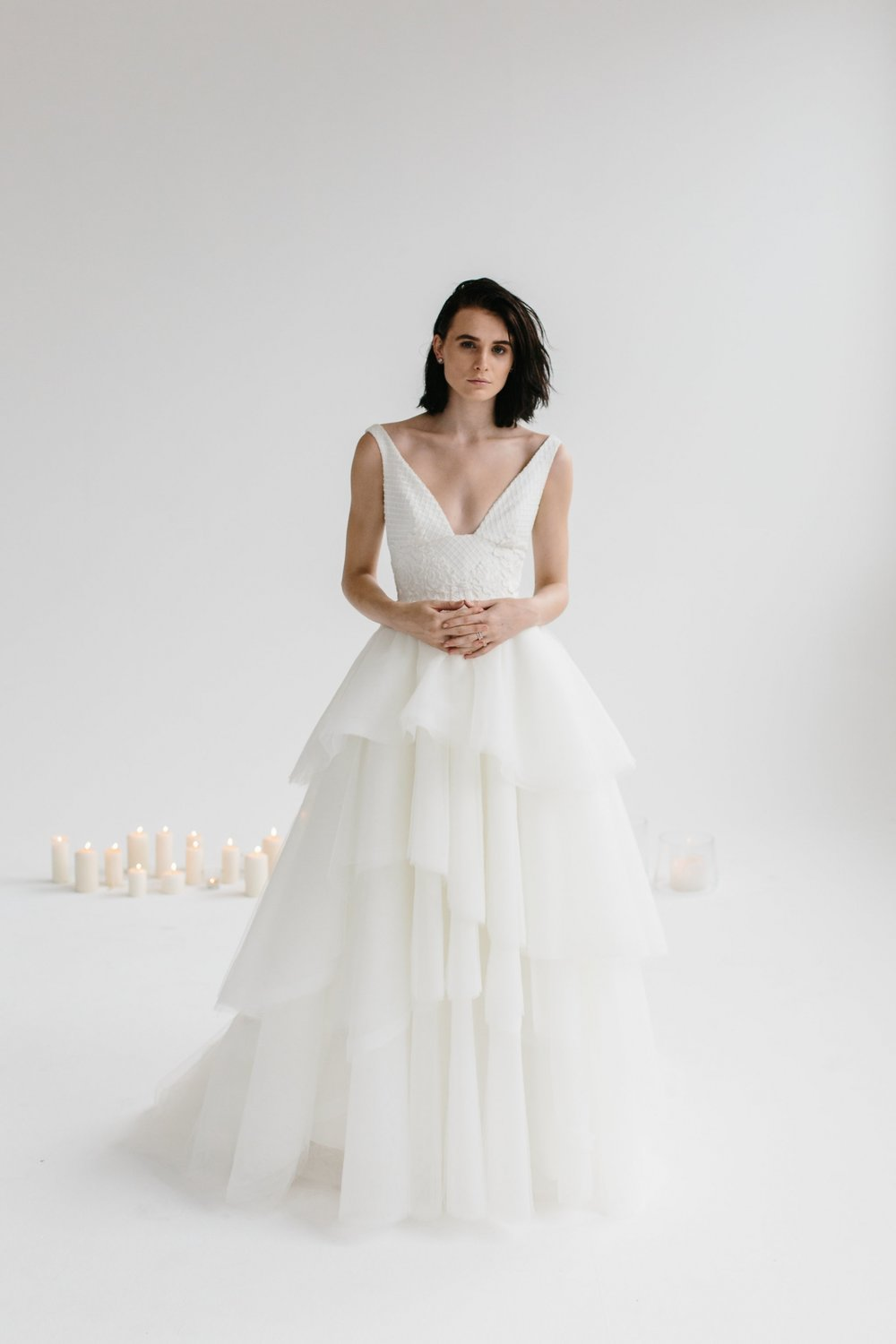Karen Willis Holmes Tulle Gown on LOVE FIND CO.