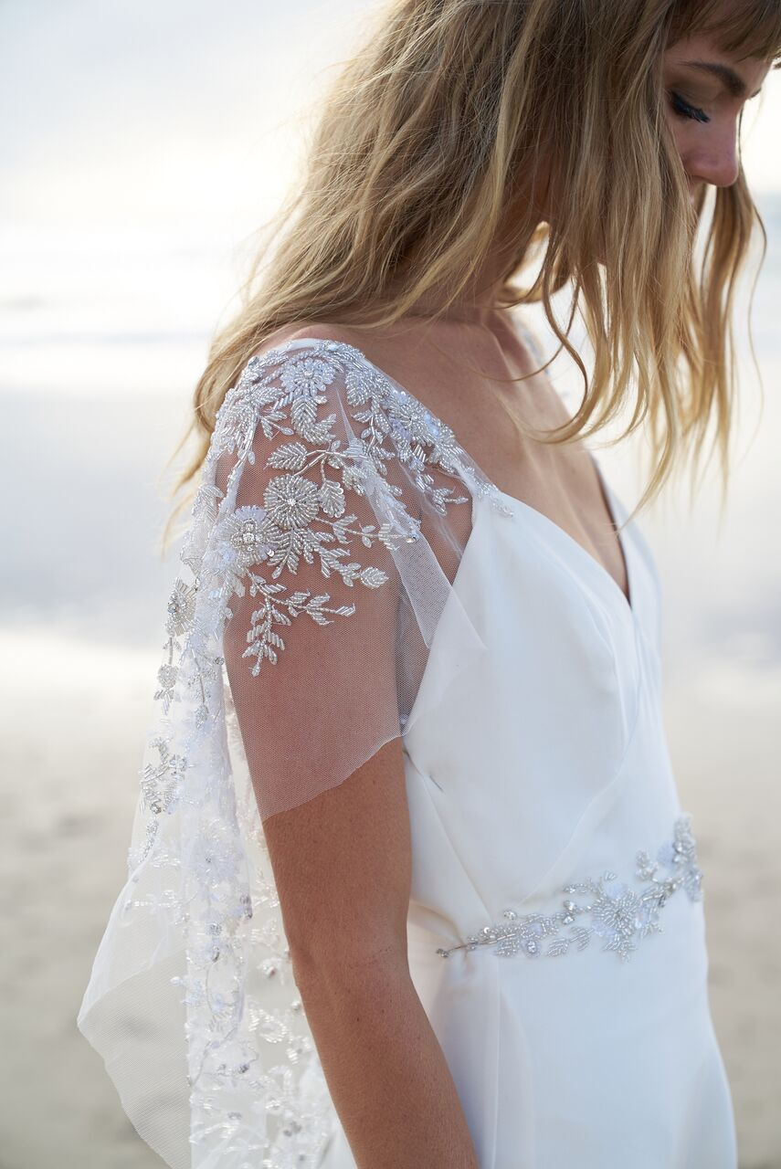 Eva wedding dress from the Anna Campbell Wanderlust Collection exclusively featured on LOVE FIND CO.