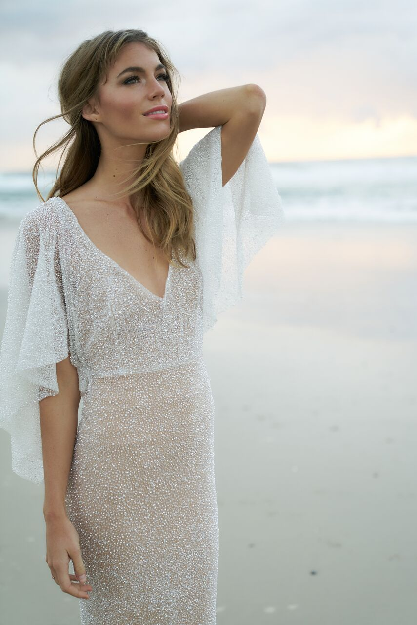 Wanda wedding dress from the Anna Campbell Wanderlust Collection exclusively featured on LOVE FIND CO.