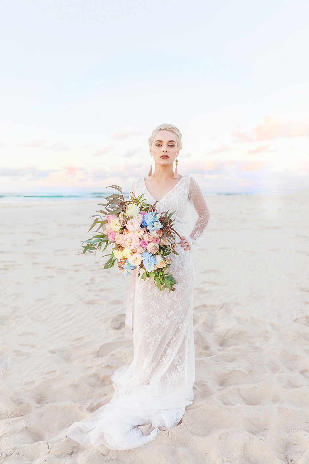 Erin Clare featured on LOVE FIND CO. Bridal Inspiration