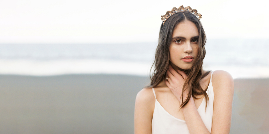 Davie and Chiyo Bridal Accessories featured on LOVE FIND CO.