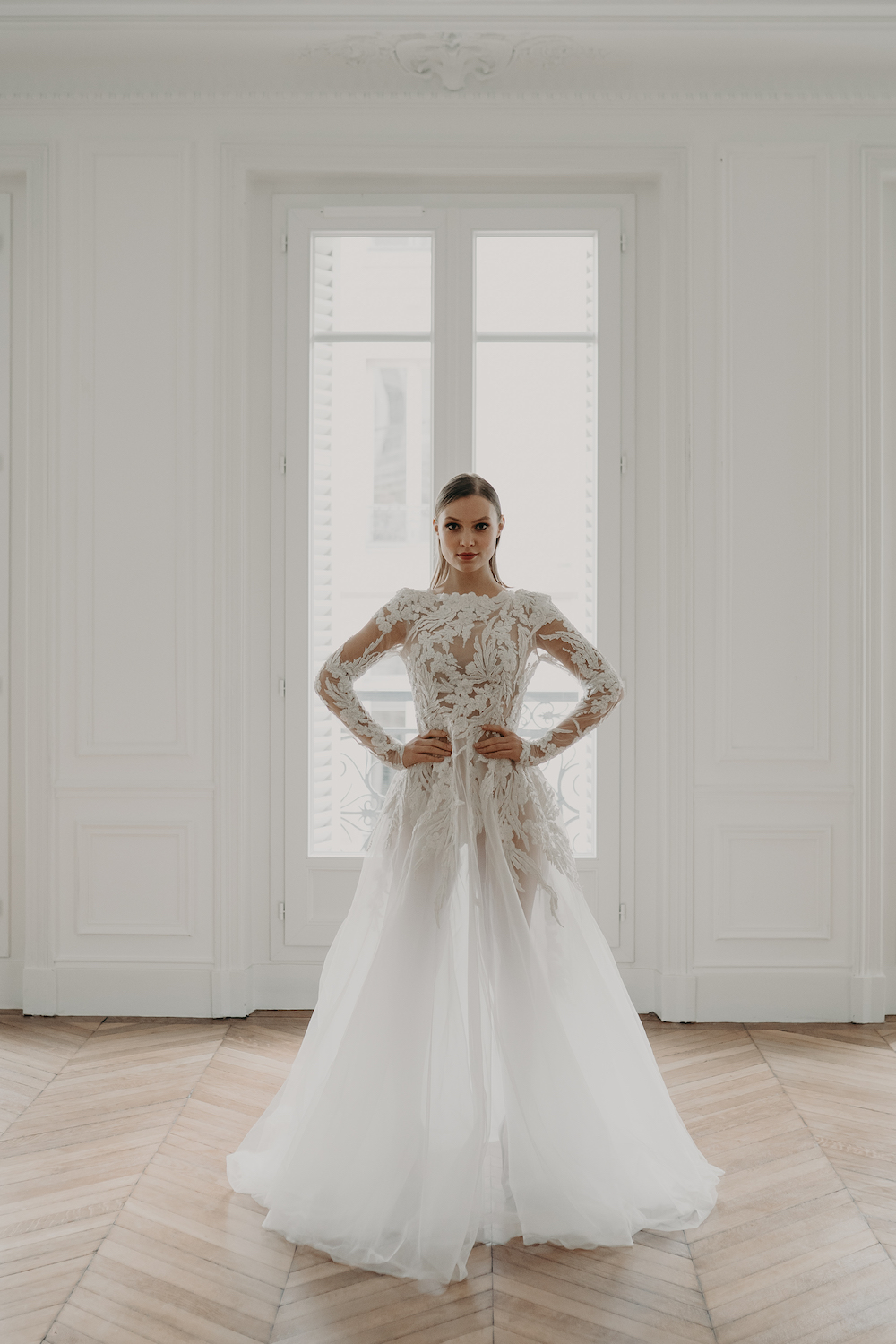 Love Find Co. Parisian Bridal Editorial featuring Mariana Hardwick