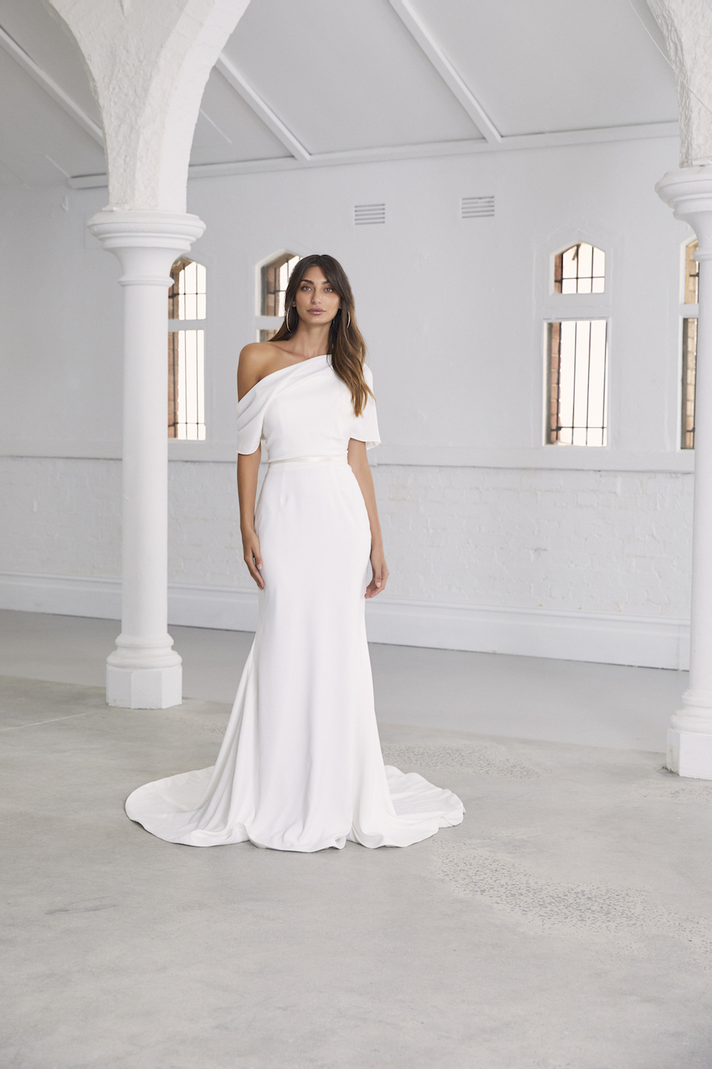Abella wedding dress by Amaline Vitale Ceremony Collection featured on LOVE FIND CO.
