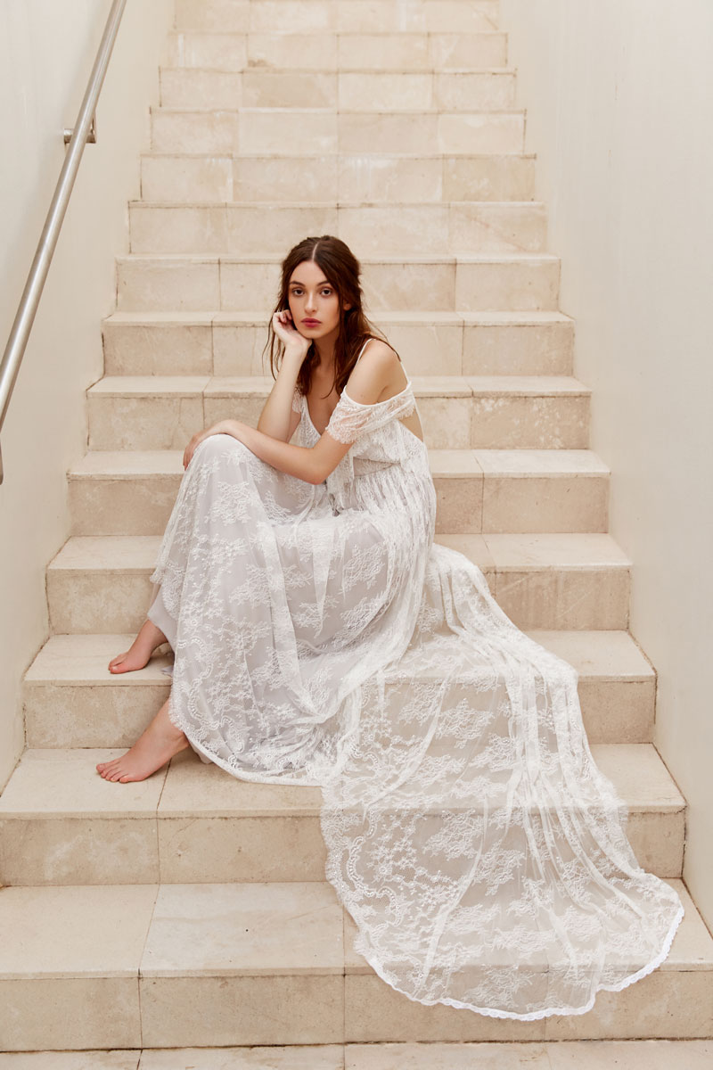White Meadow 'She Rules The Skies' Bridal Collection featured on LOVE FIND CO.